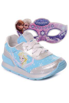 Tenis-Infantil-Jogging-Frozen