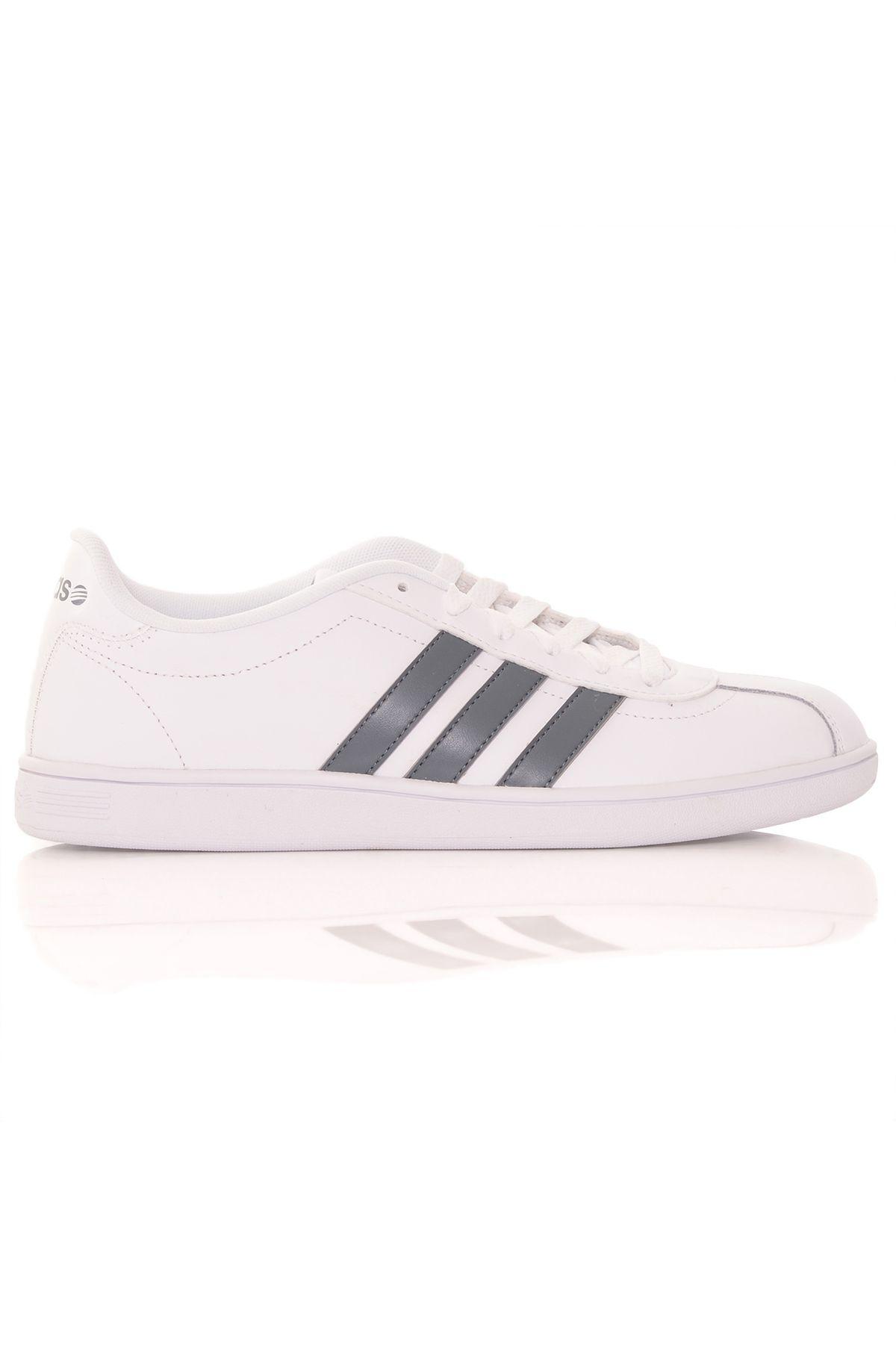 1a378735186 Tênis Adidas Vlneo Court White