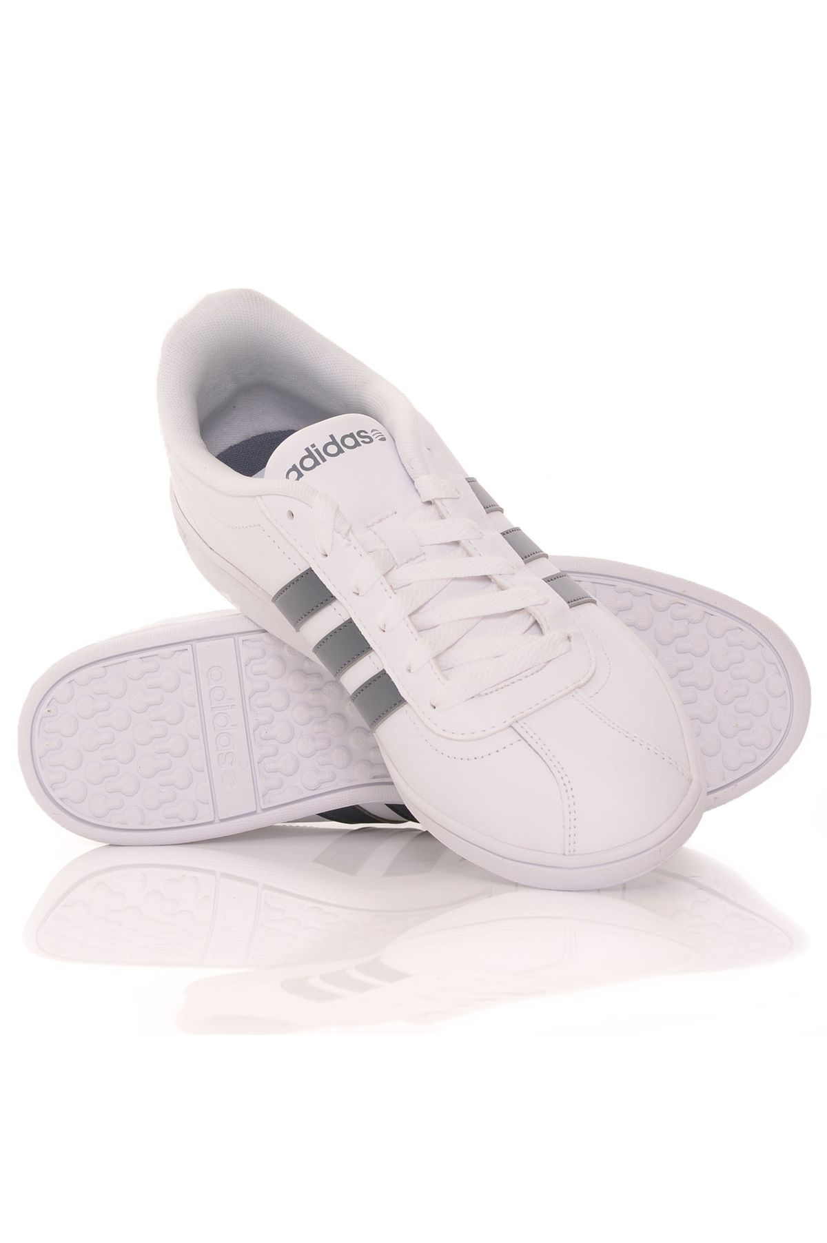08dffa9429 Tênis Adidas Vlneo Court White
