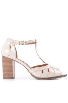 53555657c Sandálias Sociais Femininas   Mundial Calçados