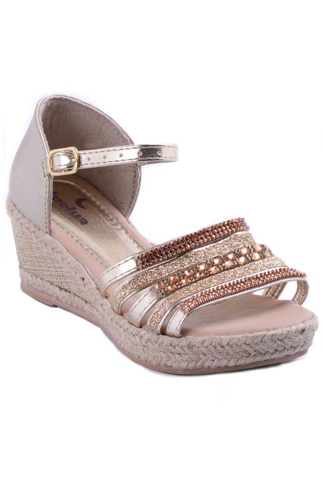 Sandálias femininas meia pata bicolor edição limitada - R