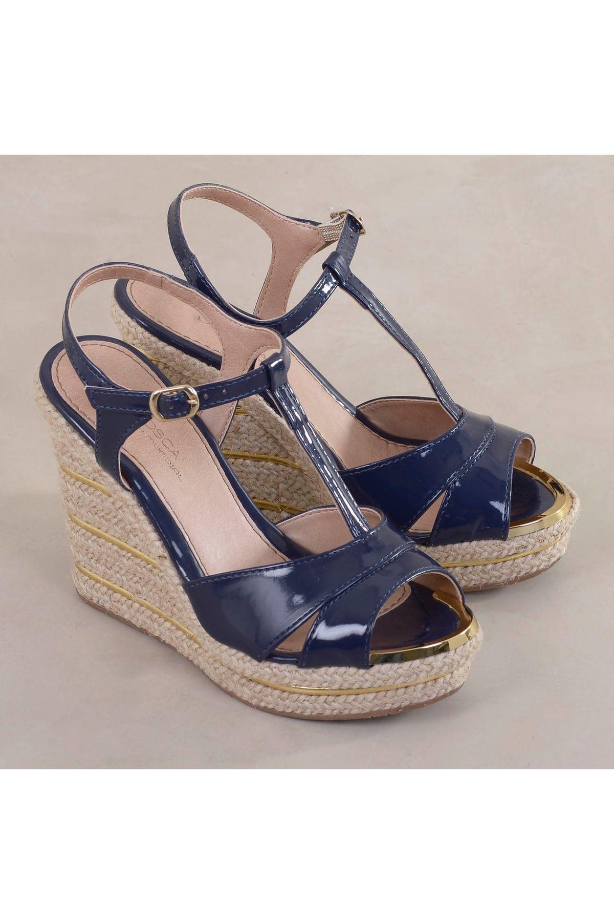 f55c50a4e Sandália Anabela Lafosca Moore   Mundial Calçados - Mundial Calçados