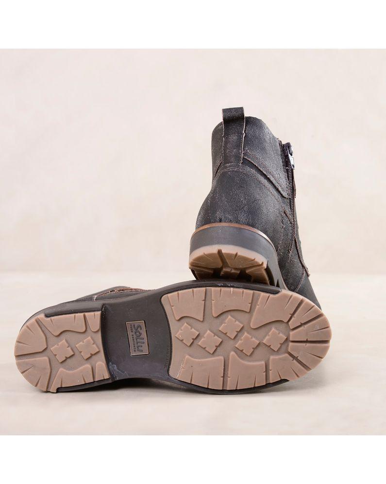 6dfc3bf4a Bota Masculina Sollu Logan | Mundial Calçados - Mundial Calçados