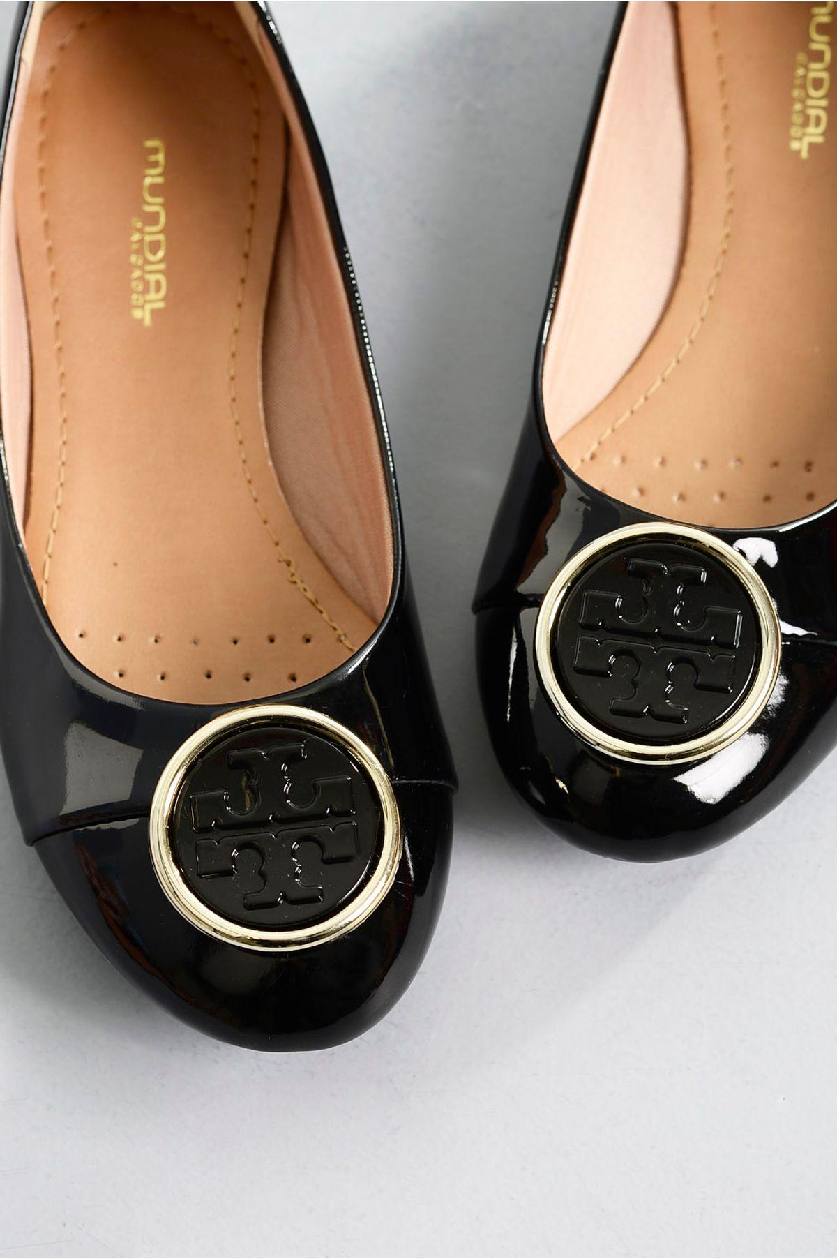 2fbf7ad78 Sapatilha Feminina Bico Redondo Lauren Mundial   Mundial Calçados ...