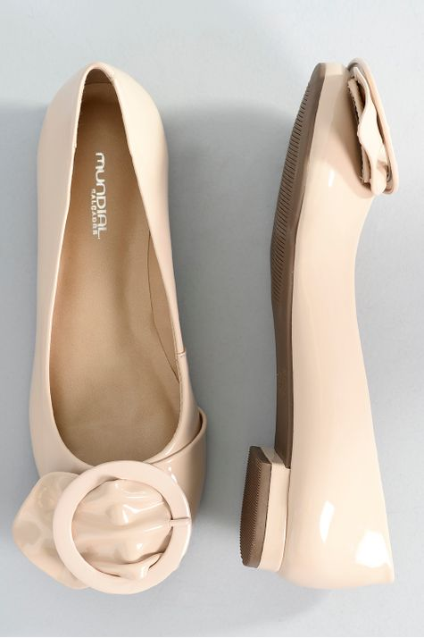 fecfc0e66 Sapatilha Feminina Bico Redondo Britany Mundial   Mundial Calçados -  Mundial Calçados