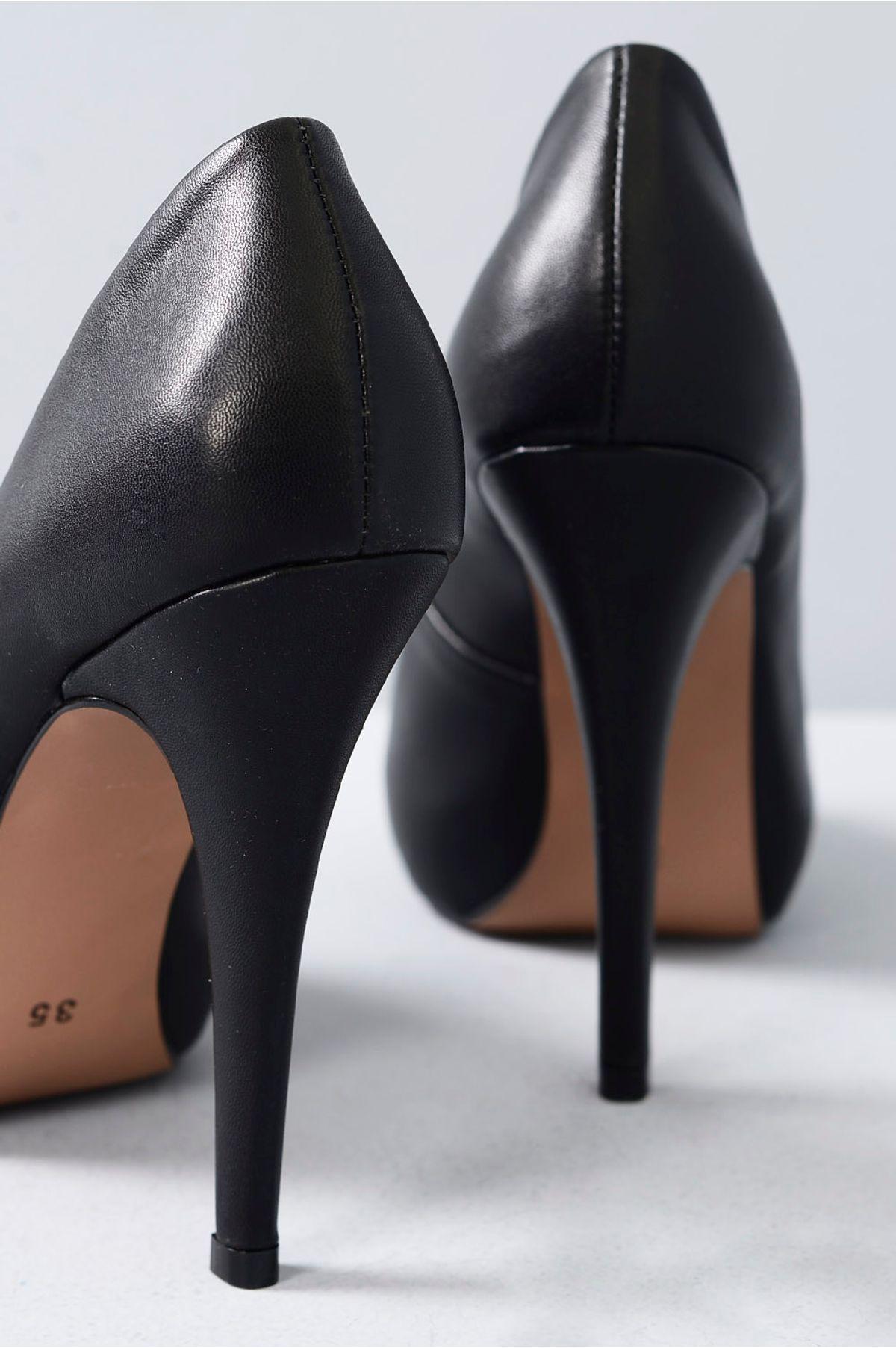 34536c99e5 Sapato Feminino Peep Toe Agnes Mundial