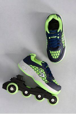 1_Tenis_Patins_Box_Kids_Rollerbox_VERDE
