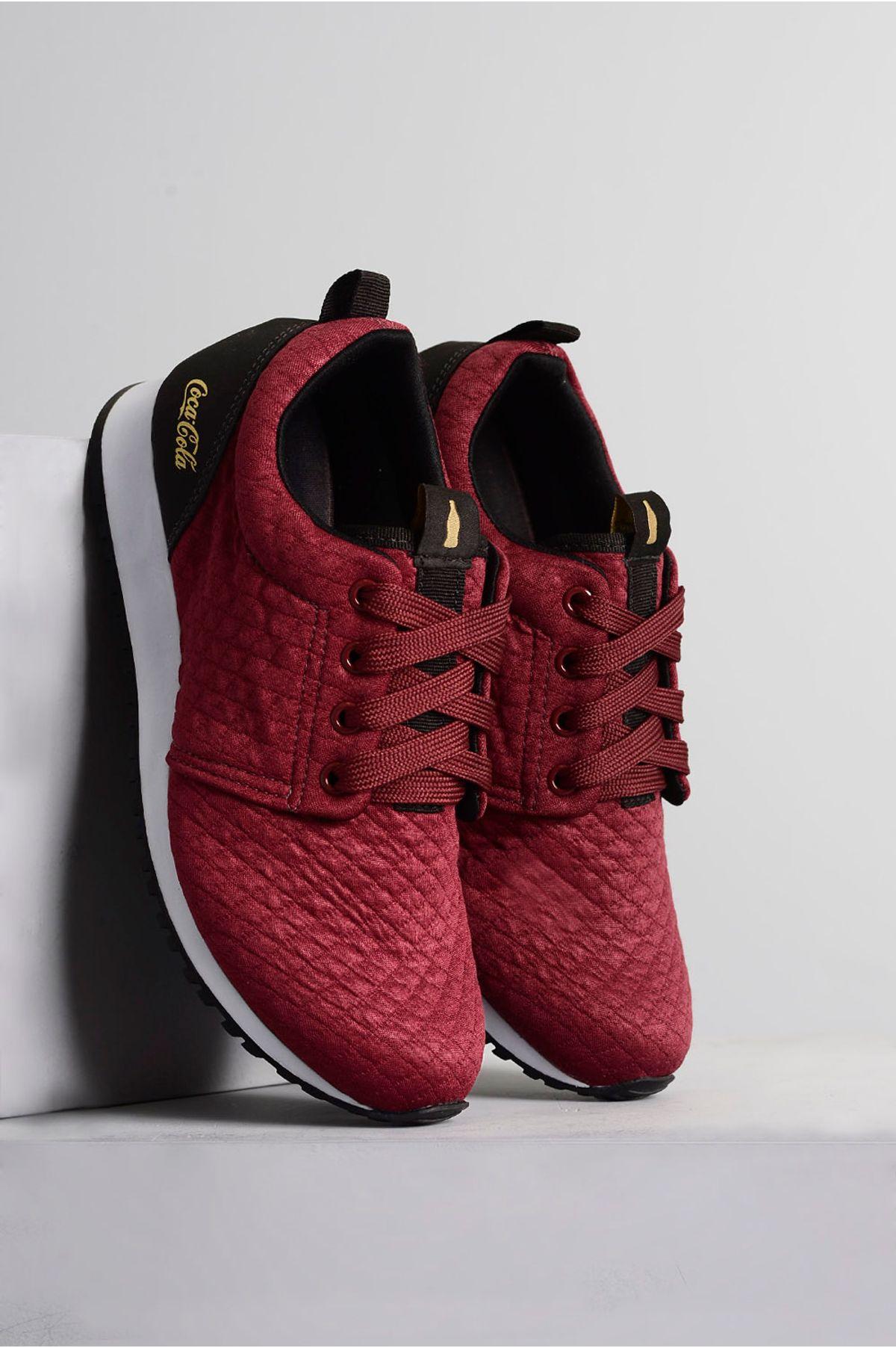 03dad088bf Tênis Coca Cola Sense BORDO - Mundial Calçados