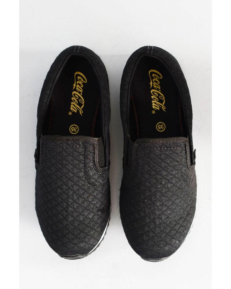 b6e9df9718 Tênis Coca Cola Sense Slip PRETO - Mundial Calçados