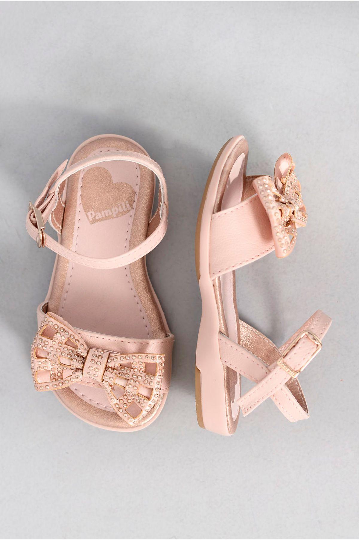 f51bce247 Sandália Infantil Juju Baby Pampili ROSA - Mundial Calçados