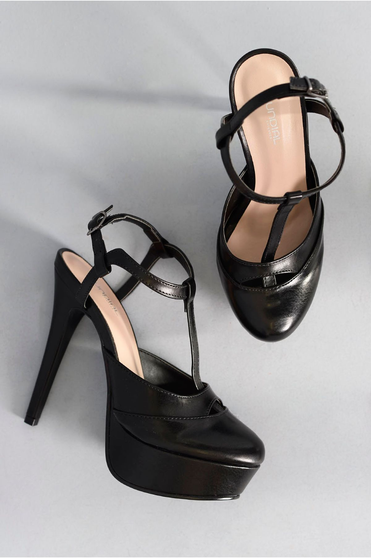 1aea1d0ab8 Sapato Feminino Salto Alto Karly Mundial PRETO - Mundial Calçados