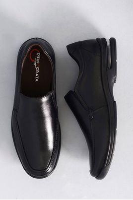 1_Sapato_Masculino_Democrata_Air_Fly_PRETO