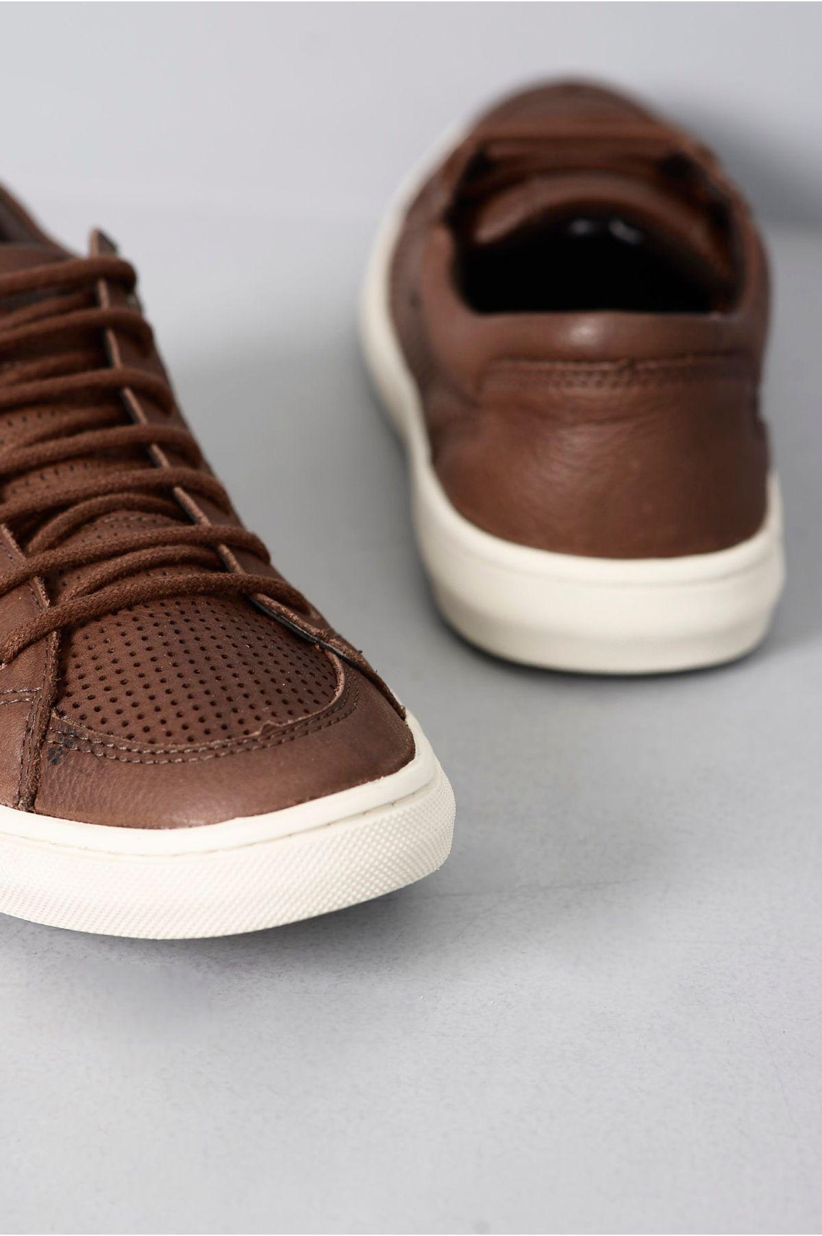 48c597a2a6 Sapatênis Masculino Casual Pipper Simons HAVANA - Mundial Calçados