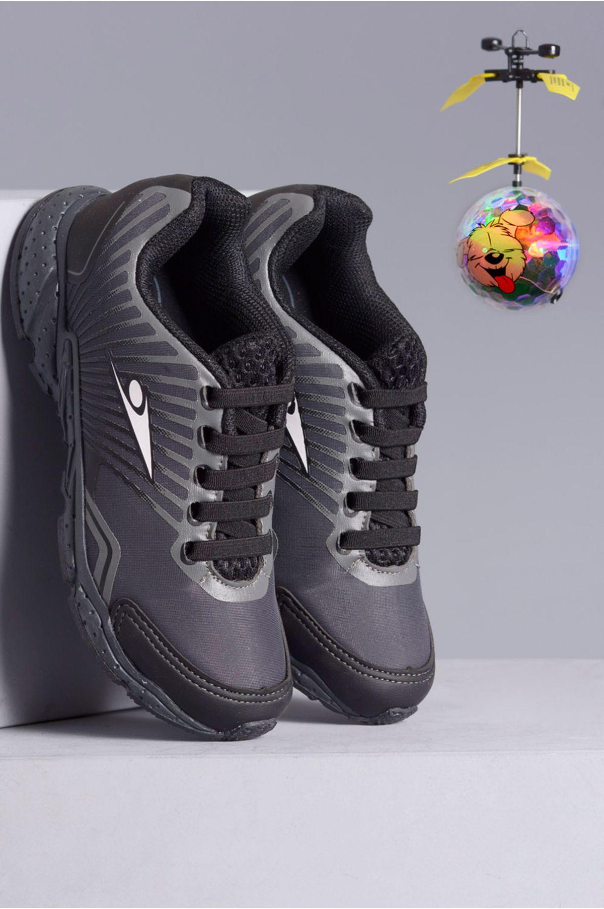 f699f62af Tênis Infantil Klin Drone Mania GRAFITE - Mundial Calçados