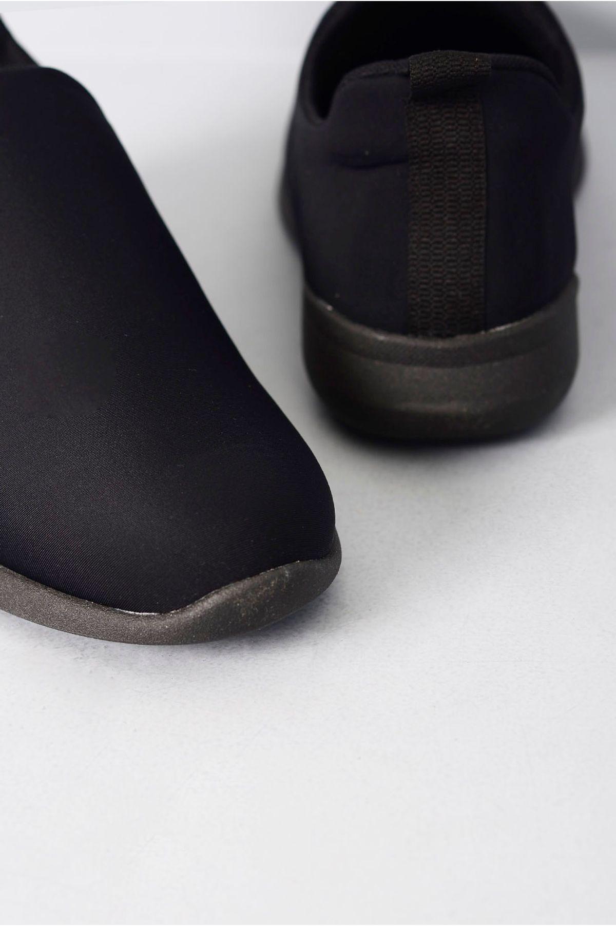 0d0877679 Sapatênis Masculino Lycra Usaflex PRETO - Mundial Calçados