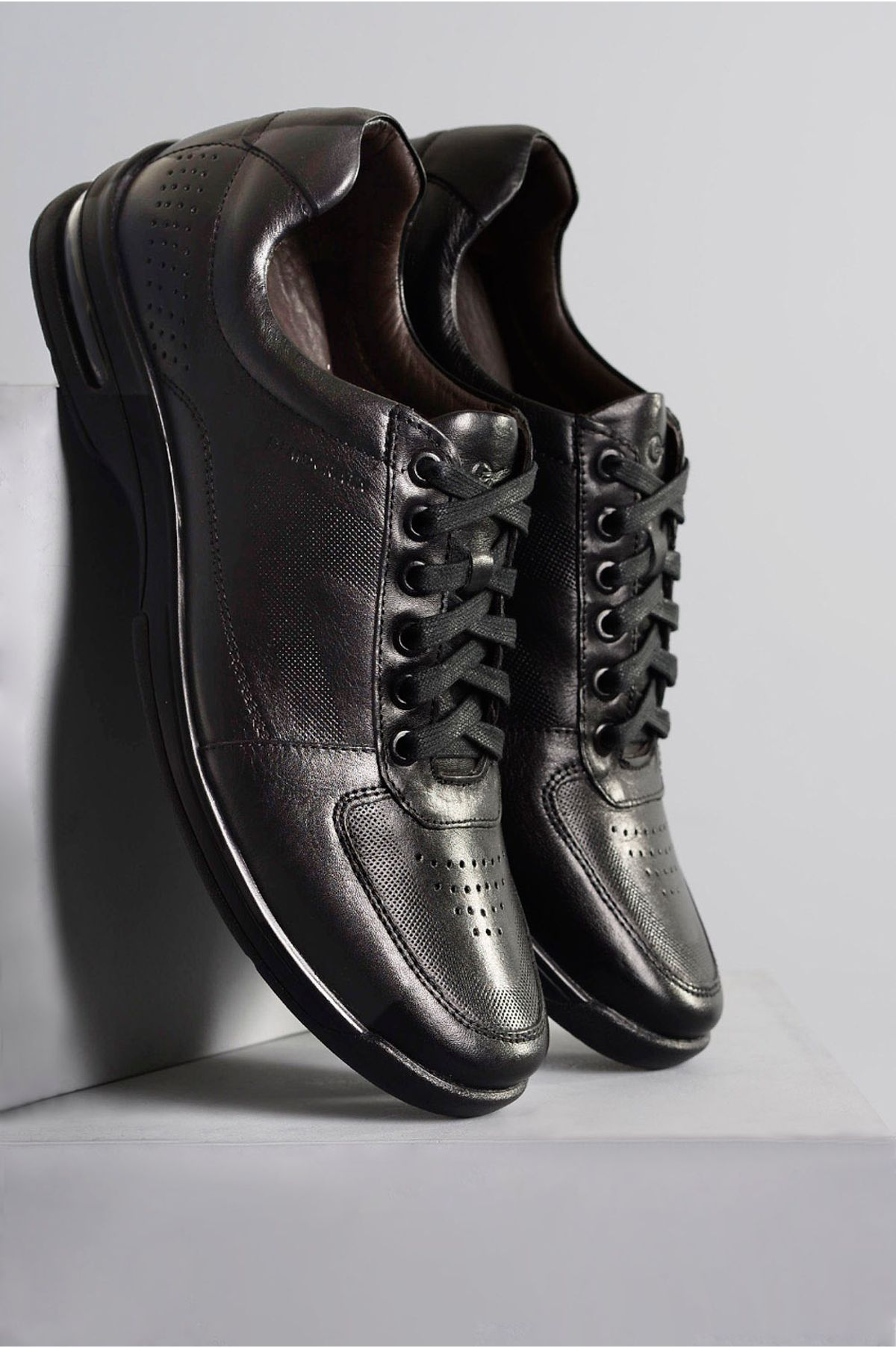 9824ecd7a Sapato Masculino Social Democrata Air Gel PRETO - Mundial Calçados