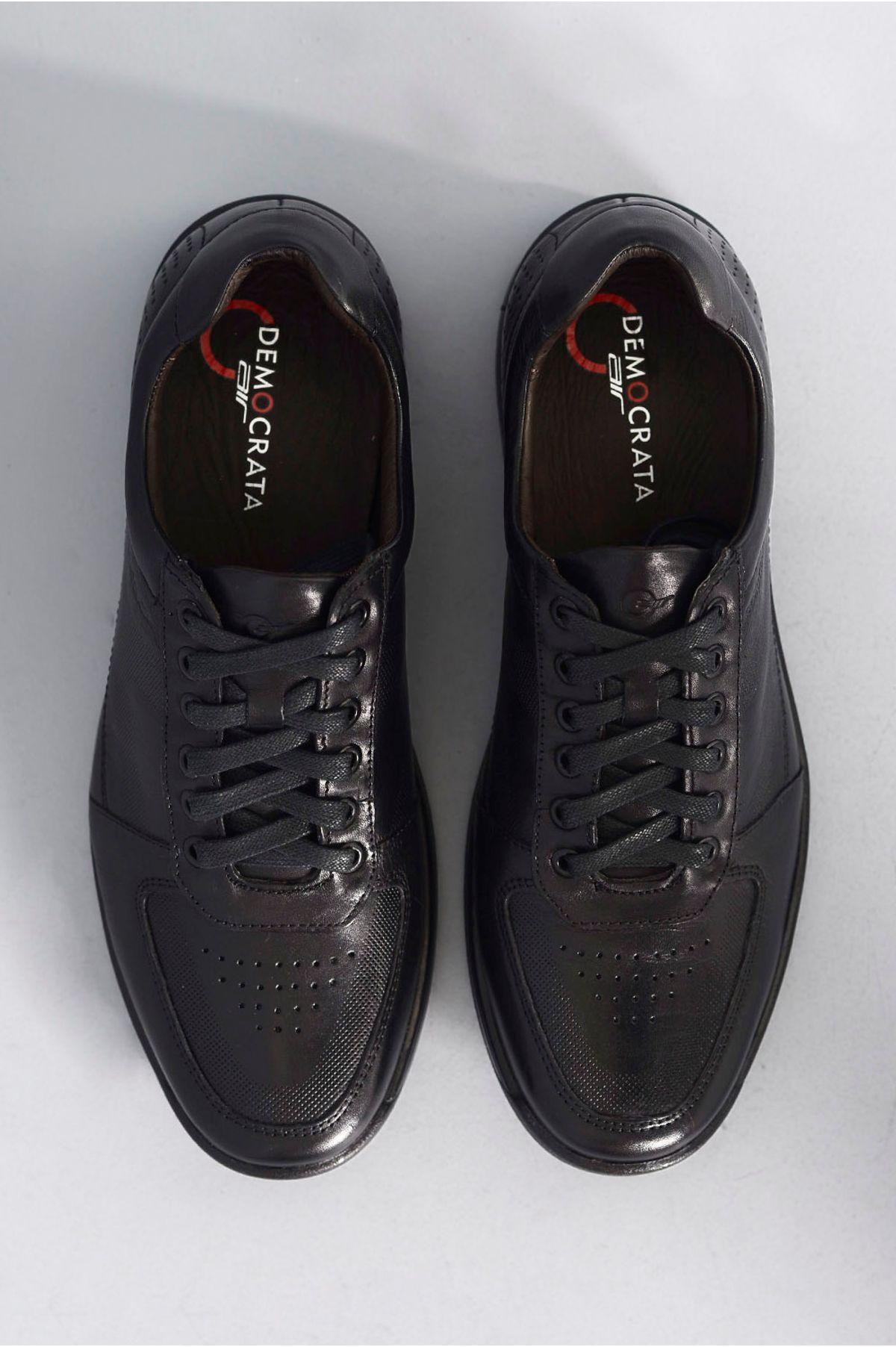 975be3474e Sapato Masculino Social Democrata Air Gel PRETO - Mundial Calçados
