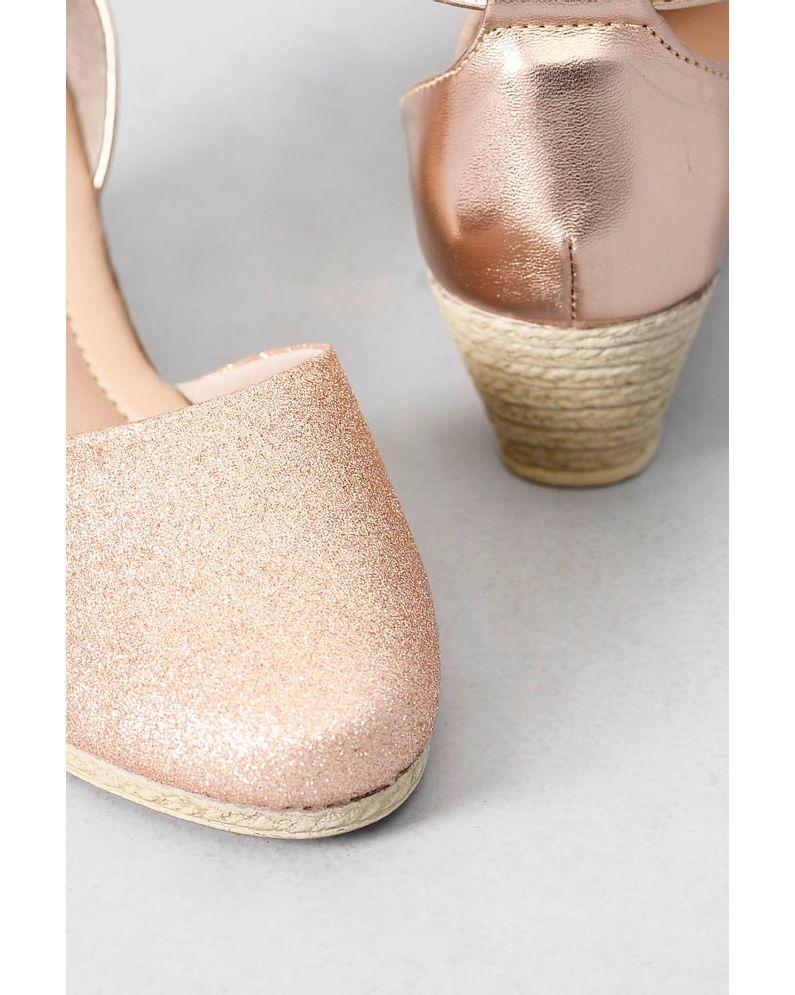 d0f03091340 Espadrille Infantil Mundial Eliza COBRE - Mundial Calçados