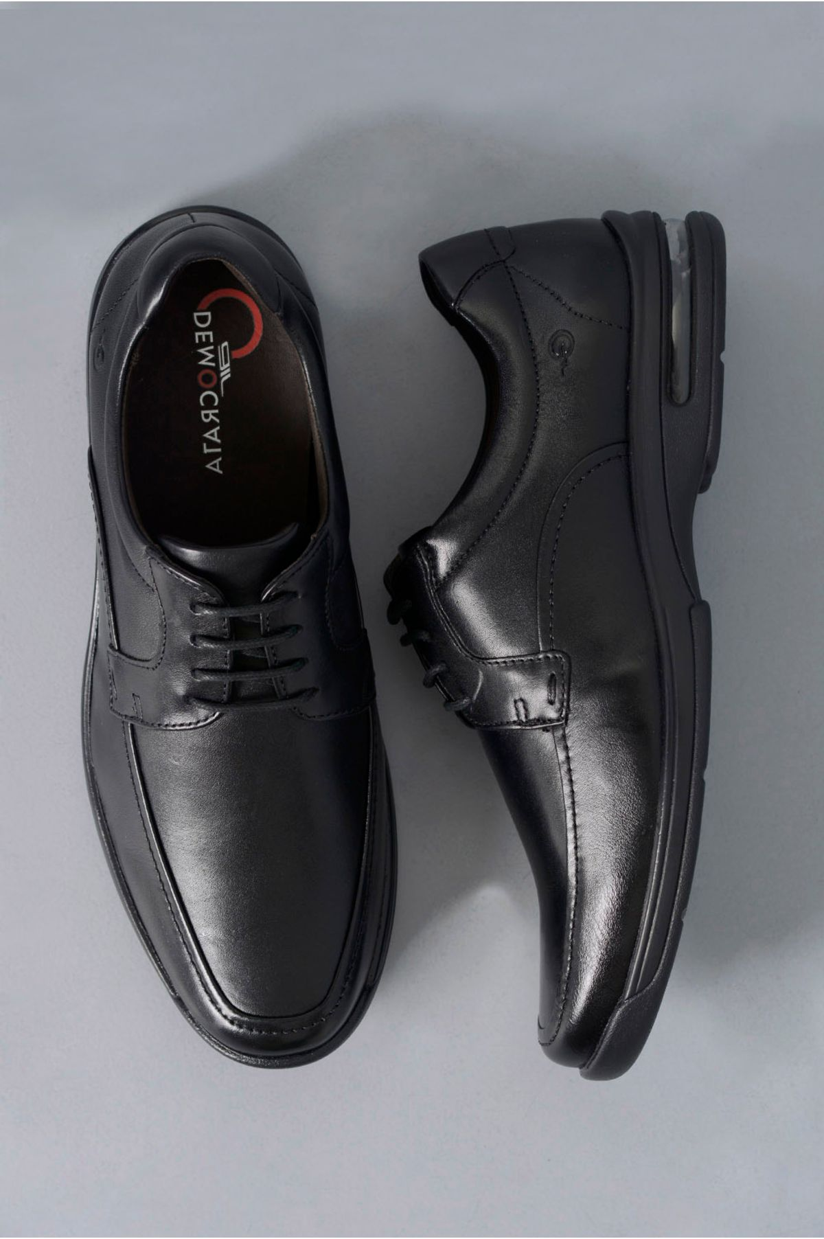 447419061 Sapato Masculino Social Democrata Air Fly PRETO - Mundial Calçados
