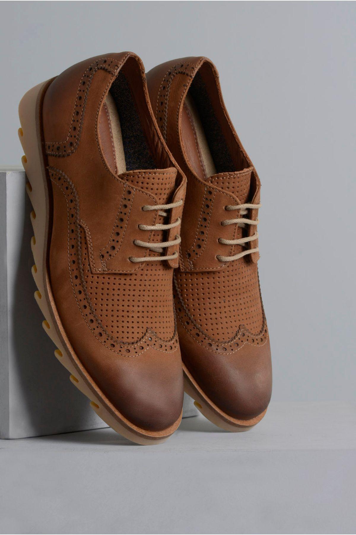 8b421ab9f Sapato Masculino Danilo Mundial CR-WHISKY - Mundial Calçados