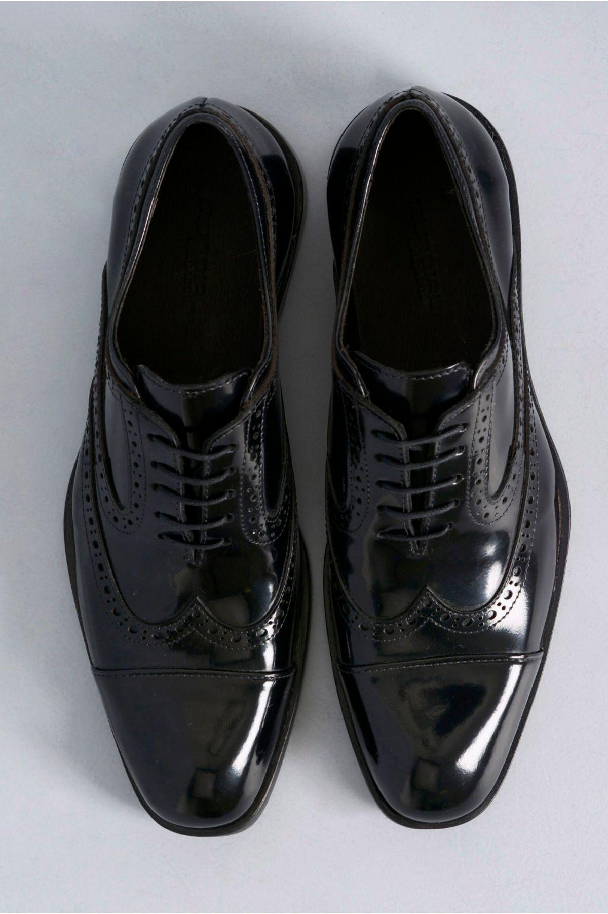 d8a59ac08 Sapato Masculino Rogério Mundial CR-PRETO - Mundial Calçados