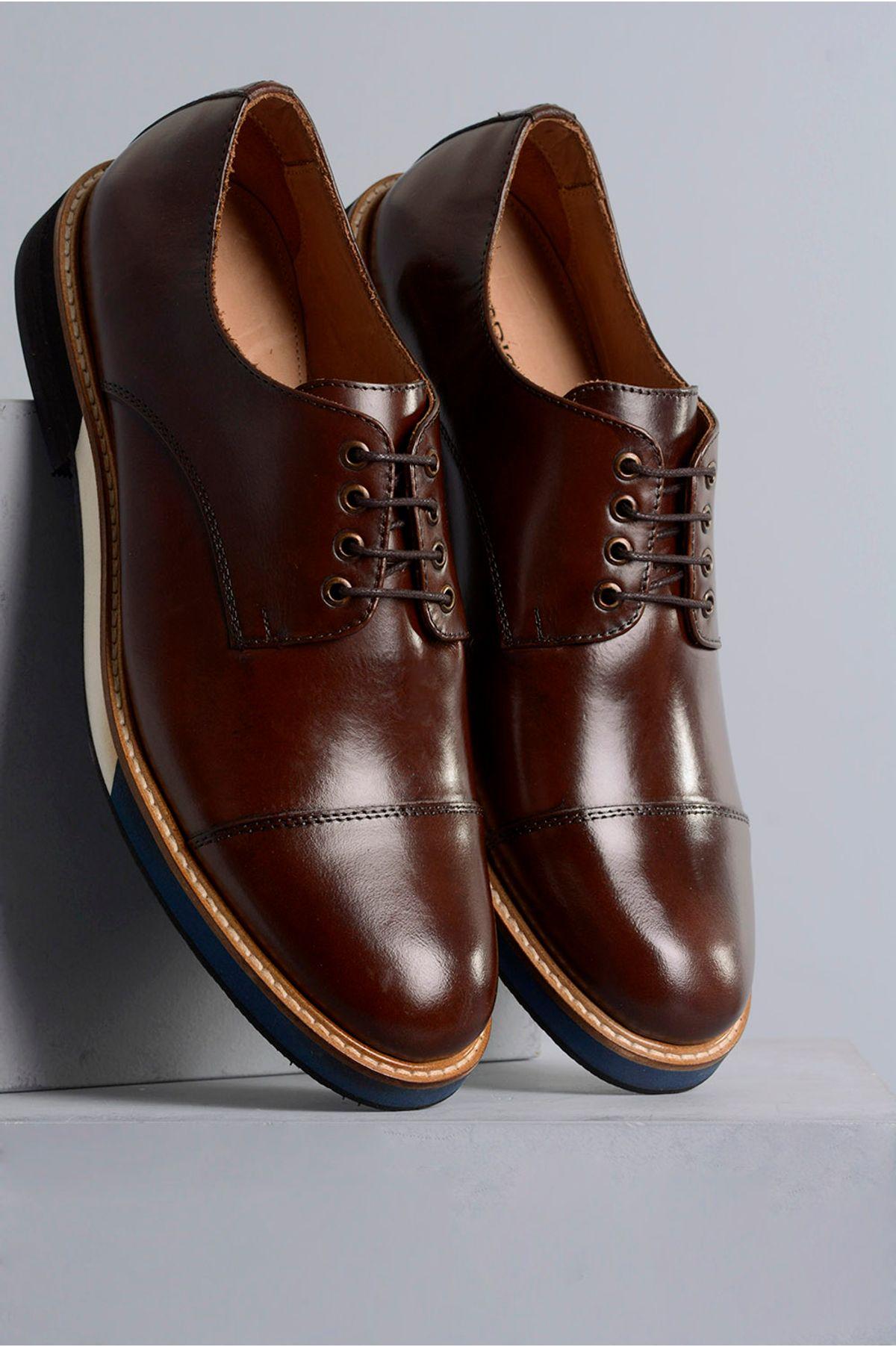 5d66f35fda Sapato Masculino Marcio Mundial CR-MOURA - Mundial Calçados