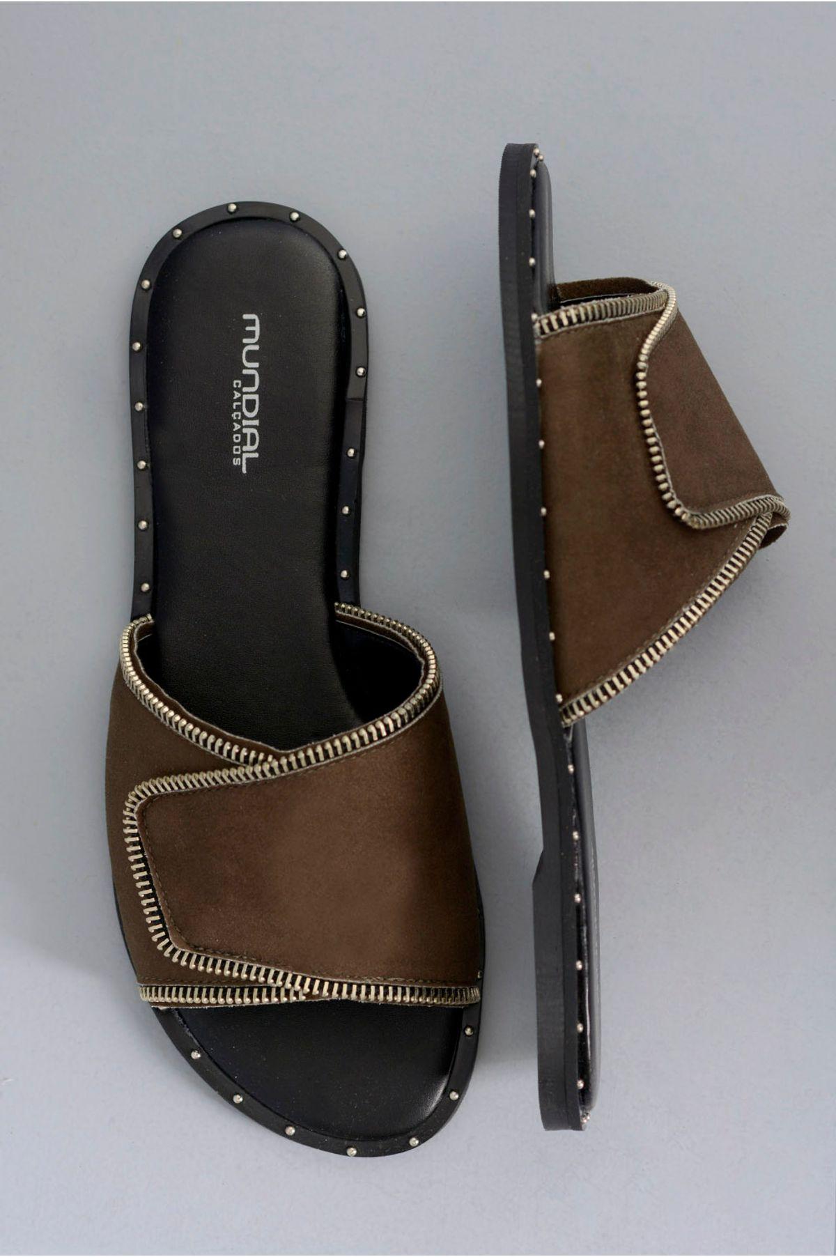 313fae09b Chinelo Feminino Velcro Velma Mundial CAM - VERDE - Mundial Calçados