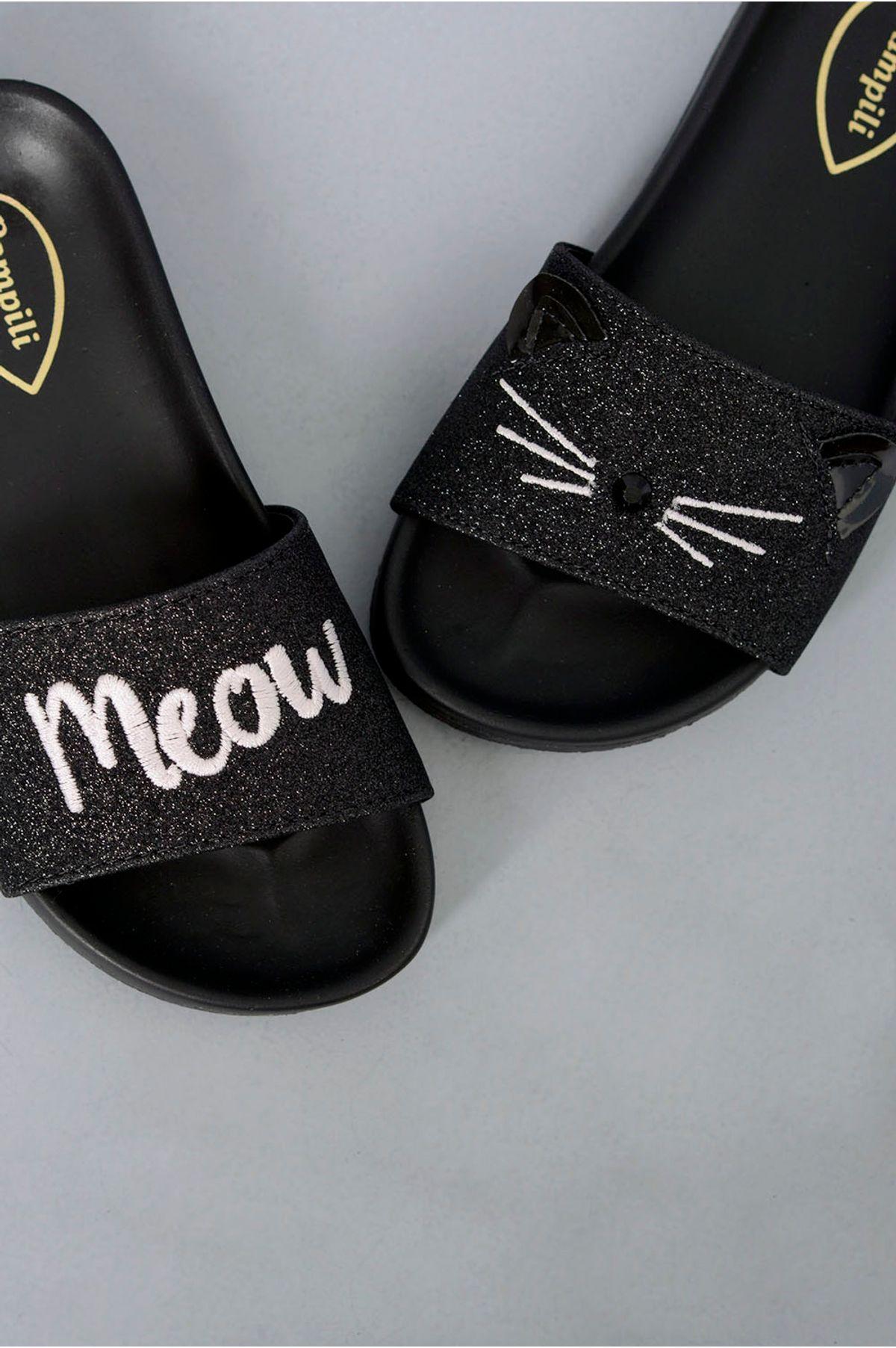 996d0132ab9ec Chinelo Infantil Jeny Pampili SINT - PRETO - Mundial Calçados