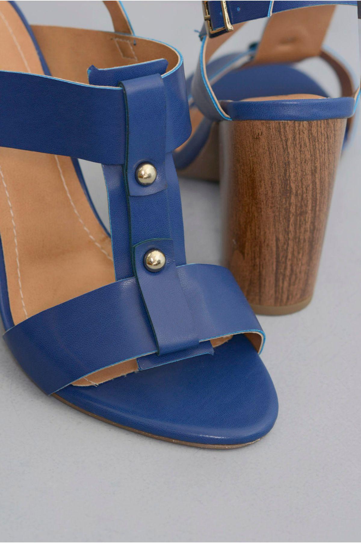 bf2018386 Sandália Salto Alto Costes Glenna   Mundial Calçados - Mundial Calçados