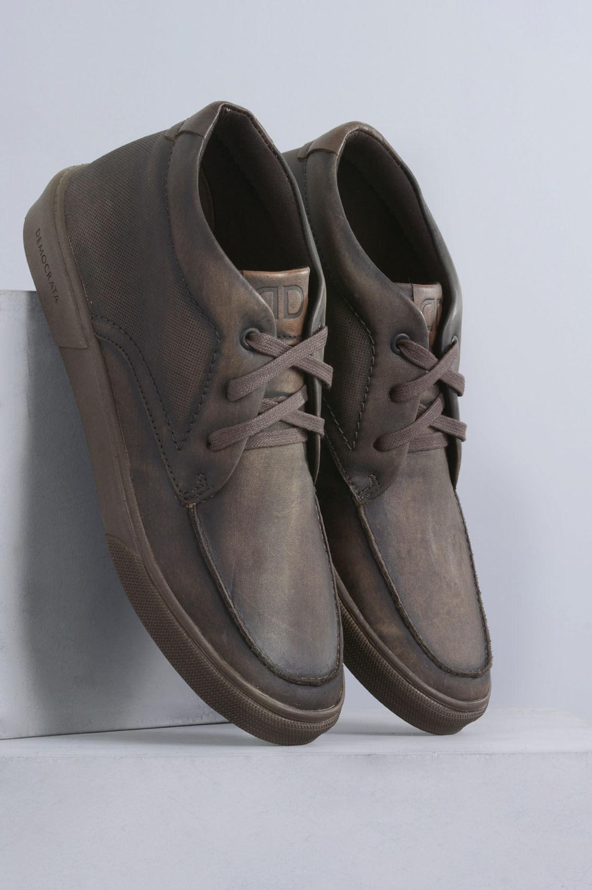 f15851dc87b Sapatênis Masculino Democrata Hit CR TABACO - Mundial Calçados