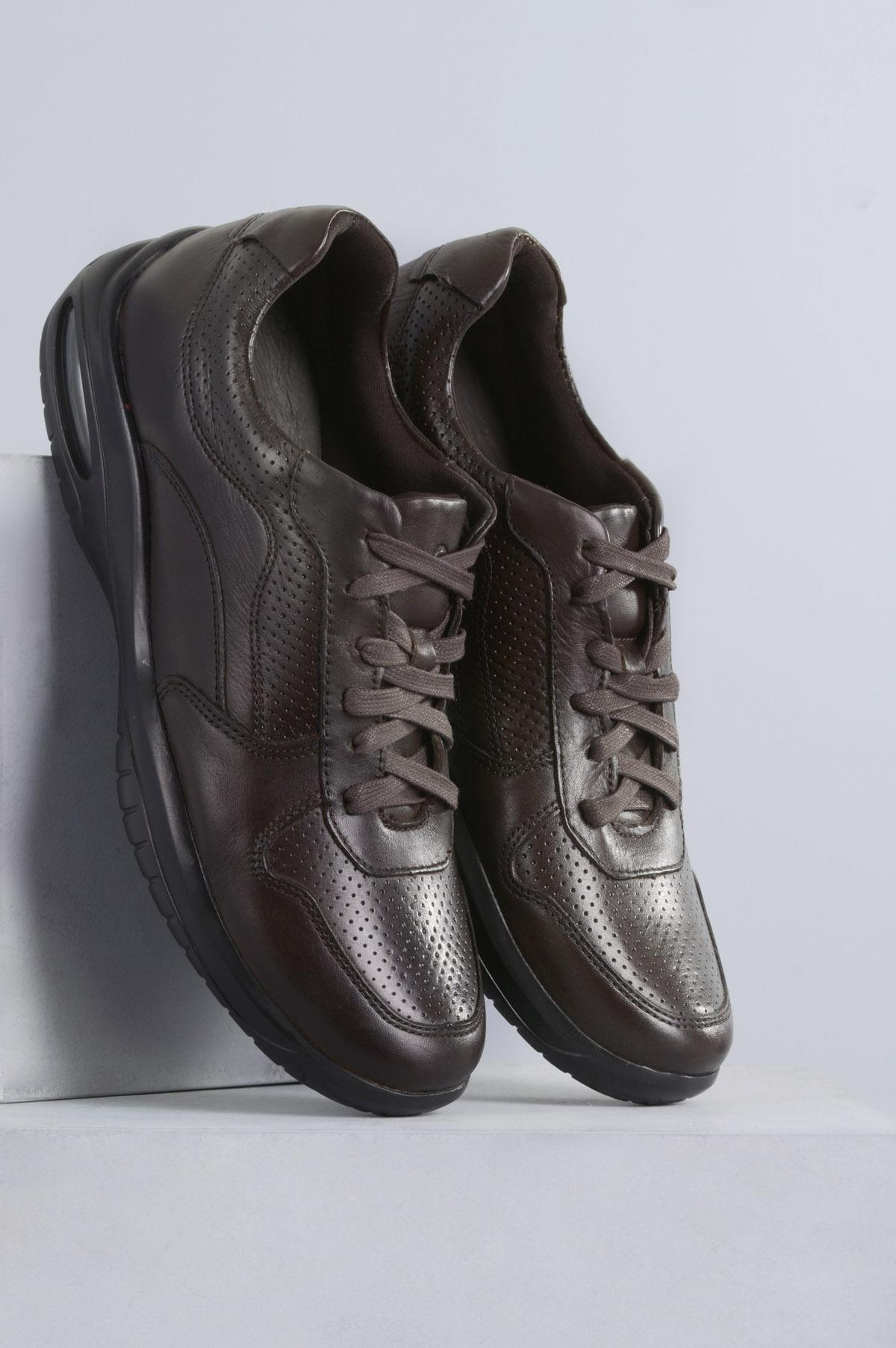 c5e41ea70 Sapato Masculino Democrata Air Motion CR - CAFE - Mundial Calçados
