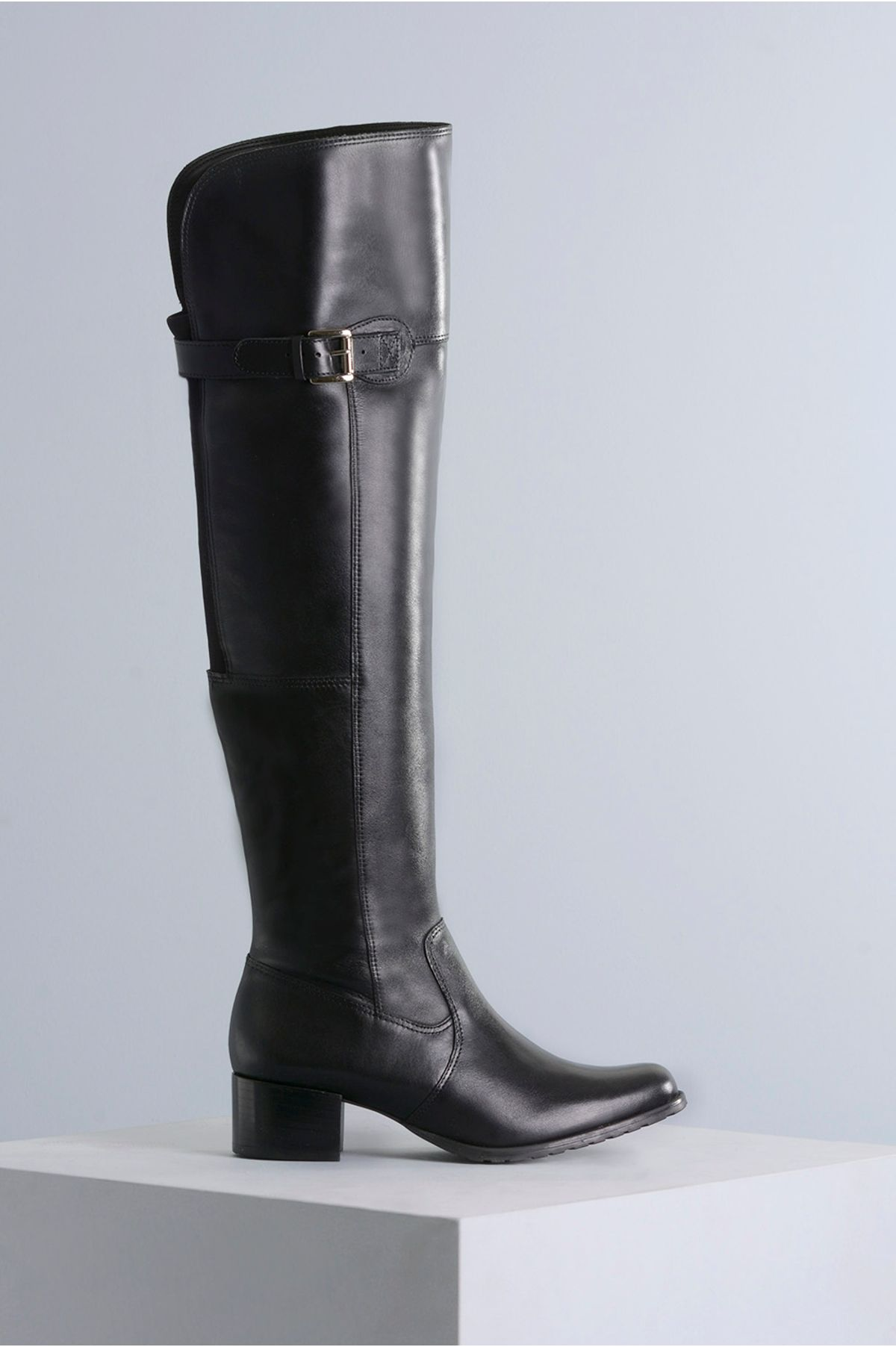 Bota Feminina Cano Longo Monyser Mundial CR-PRETO - Mundial Calçados 62d552fa4e