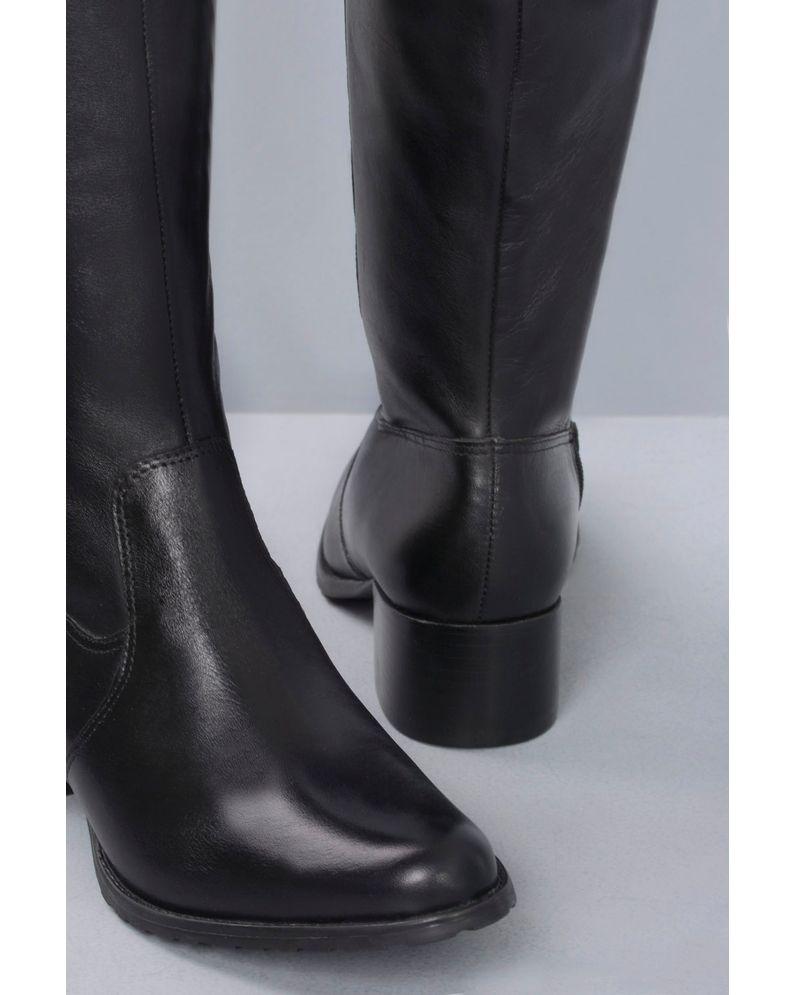2ec237b646 Bota Feminina Cano Longo Monyser Mundial CR-PRETO - Mundial Calçados