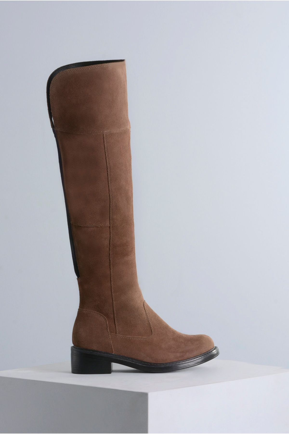 Bota Feminina Cano Longo Kailan Mundial CR-CINZA - Mundial Calçados 7f5bd68a6e
