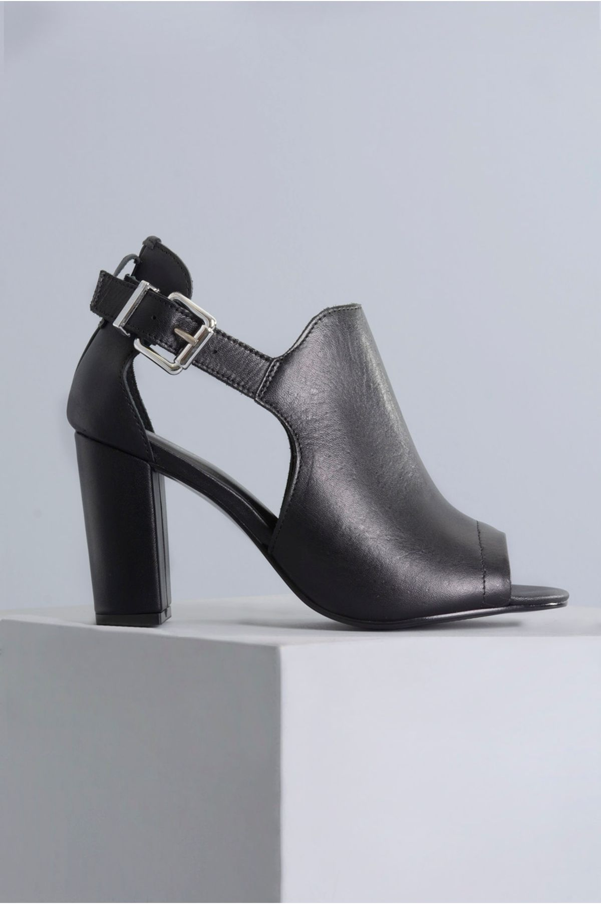 8fdaa5684d Sandália Salto Alto Whitney Mundial CR-PRETO - Mundial Calçados