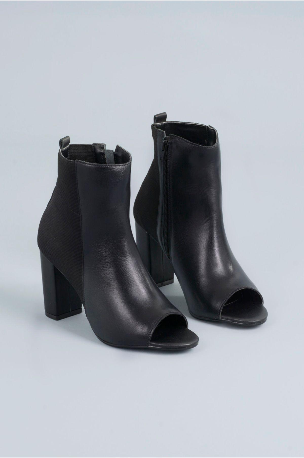 e8426c778ee3e Open Boot Salto Alto Kayden Mundial CR-PRETO - Mundial Calçados