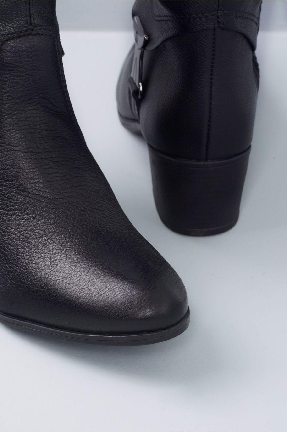 Bota Feminina Salto Médio Mileidy Bottero CR-PRETO - Mundial Calçados 252c75a6b1