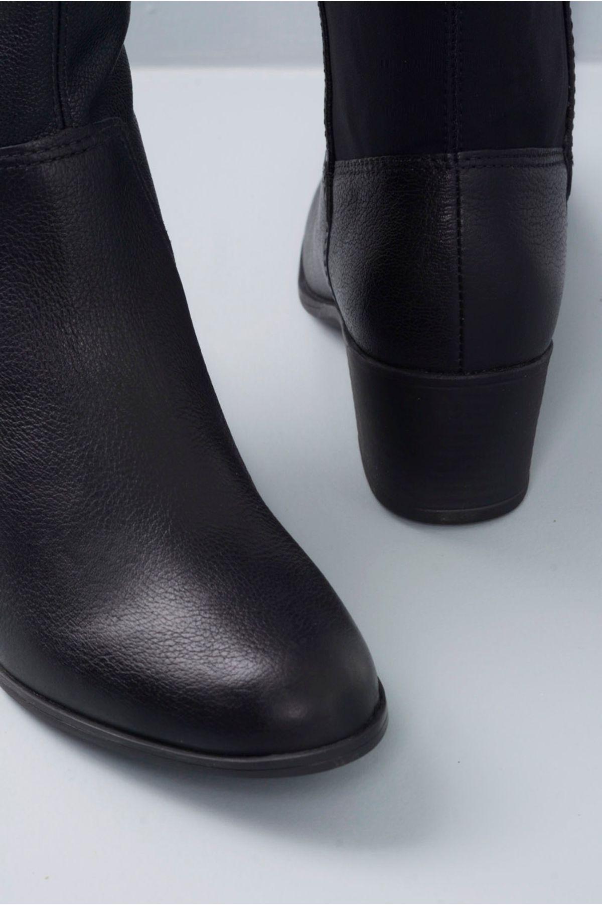 Bota Feminina Regiane Bottero CR-PRETO - Mundial Calçados 94b8e1c7ba