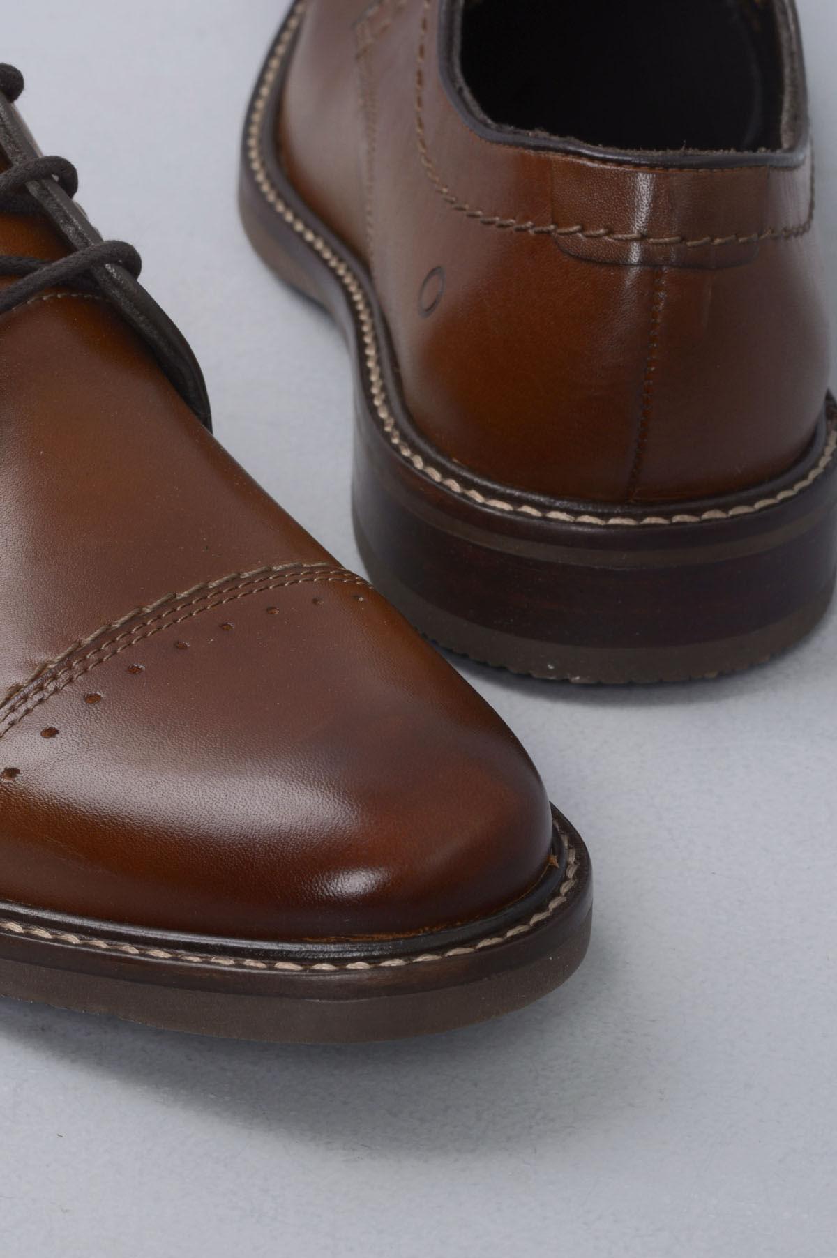 88e34880 Sapato Masculino Democrata Connor CR TAN - Mundial Calçados
