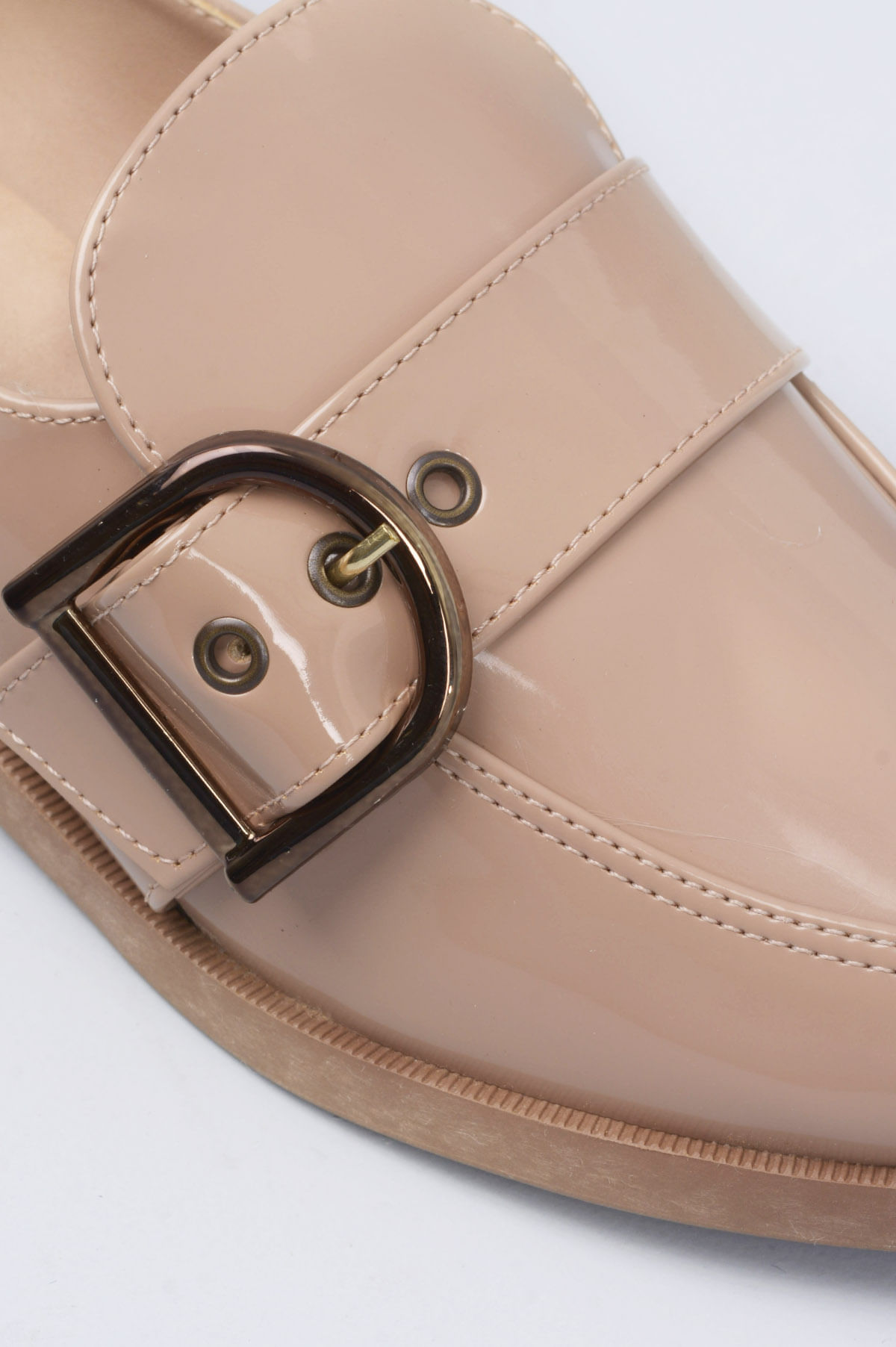 106f42113 Sapato Feminino Salto Baixo Ayala Mundial VERNIZ CAQUI - Mundial ...