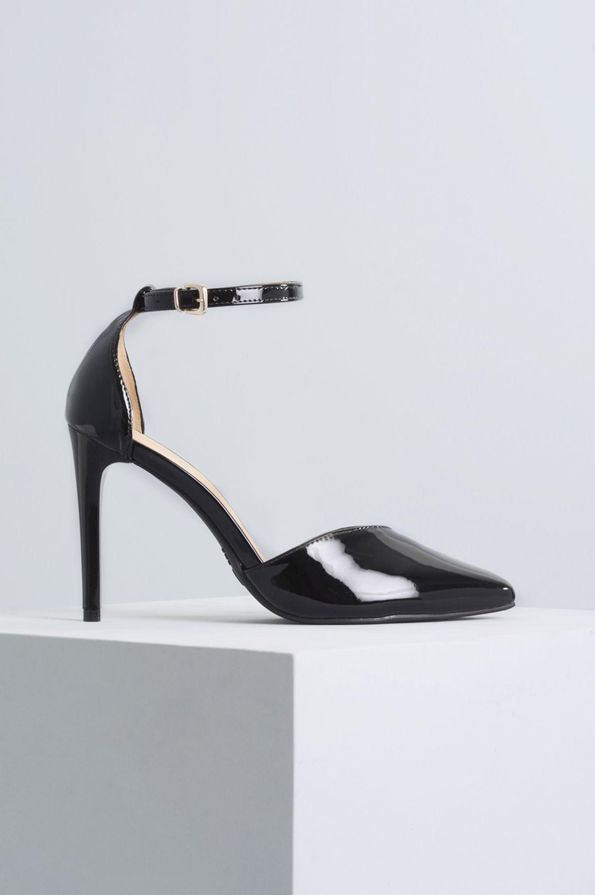 00e216c67b Sapato Salto Alto Gracie Mundial VERNIZ PRETO - Mundial Calçados
