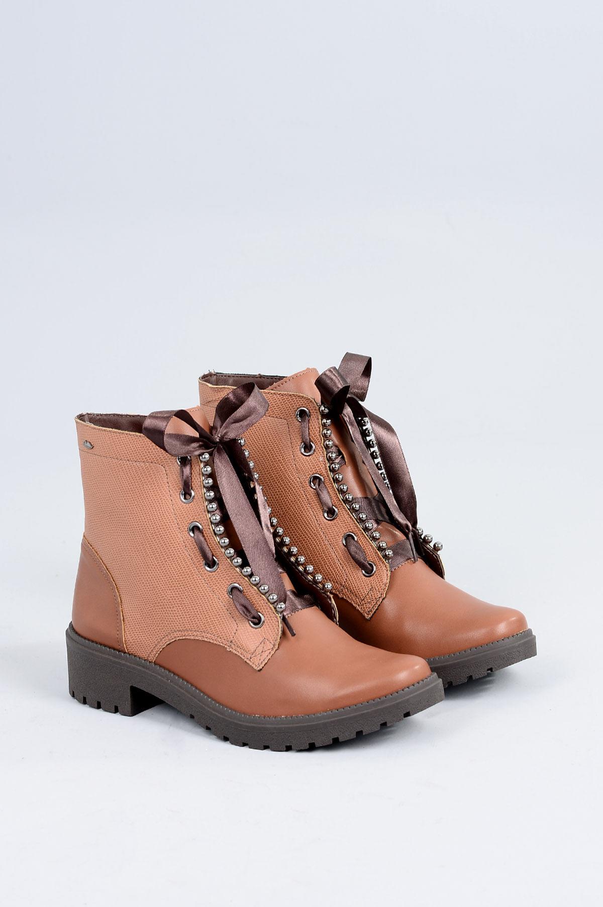 7e676aa653 Bota Coturno Telmy Dakota SINT - WHISKY - Mundial Calçados