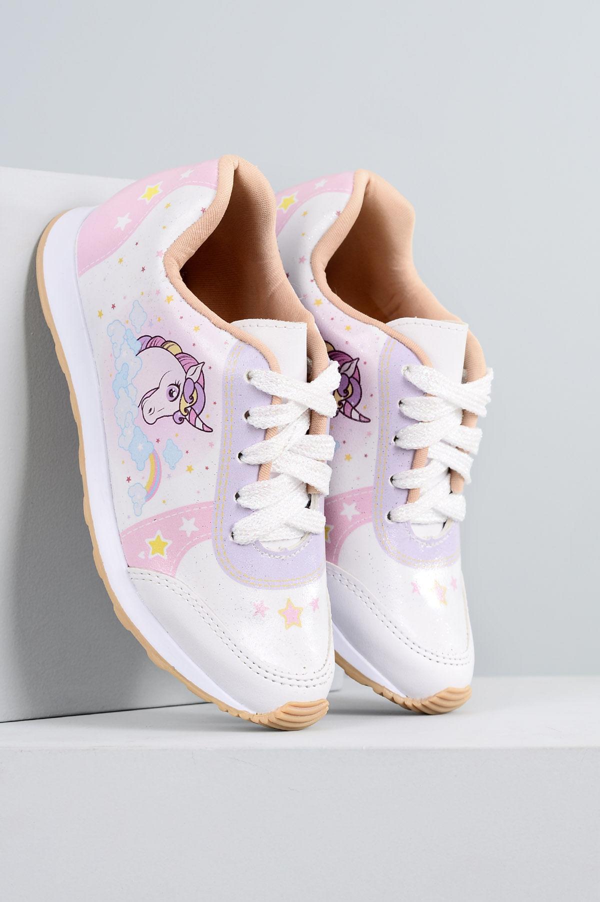 4b52e24e0e4 Tênis Infantil Jessica Mundial SINT - BRANCO - Mundial Calçados