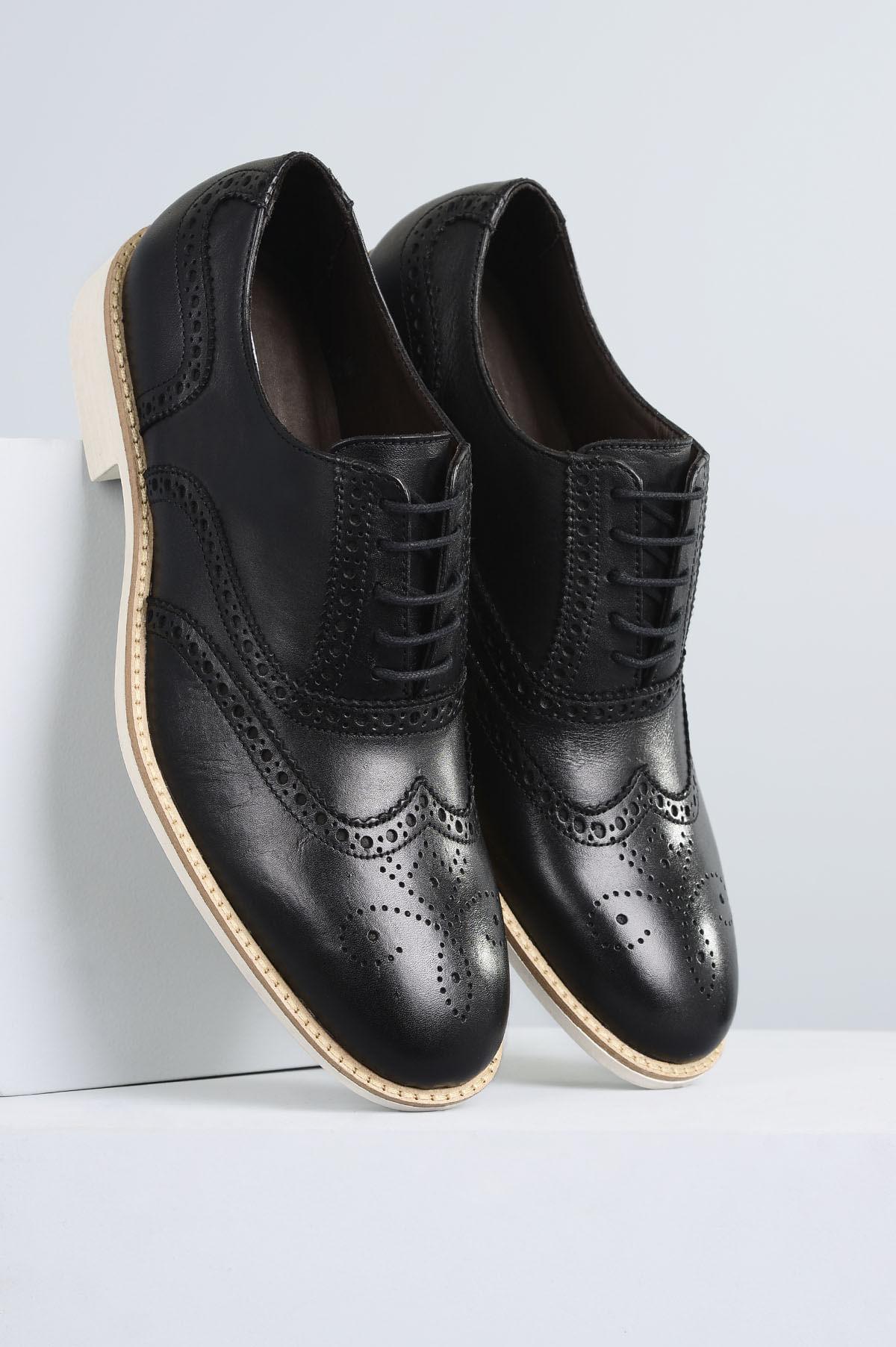 2615e991b Sapato Masculino Robson Mundial CR-PRETO - Mundial Calçados