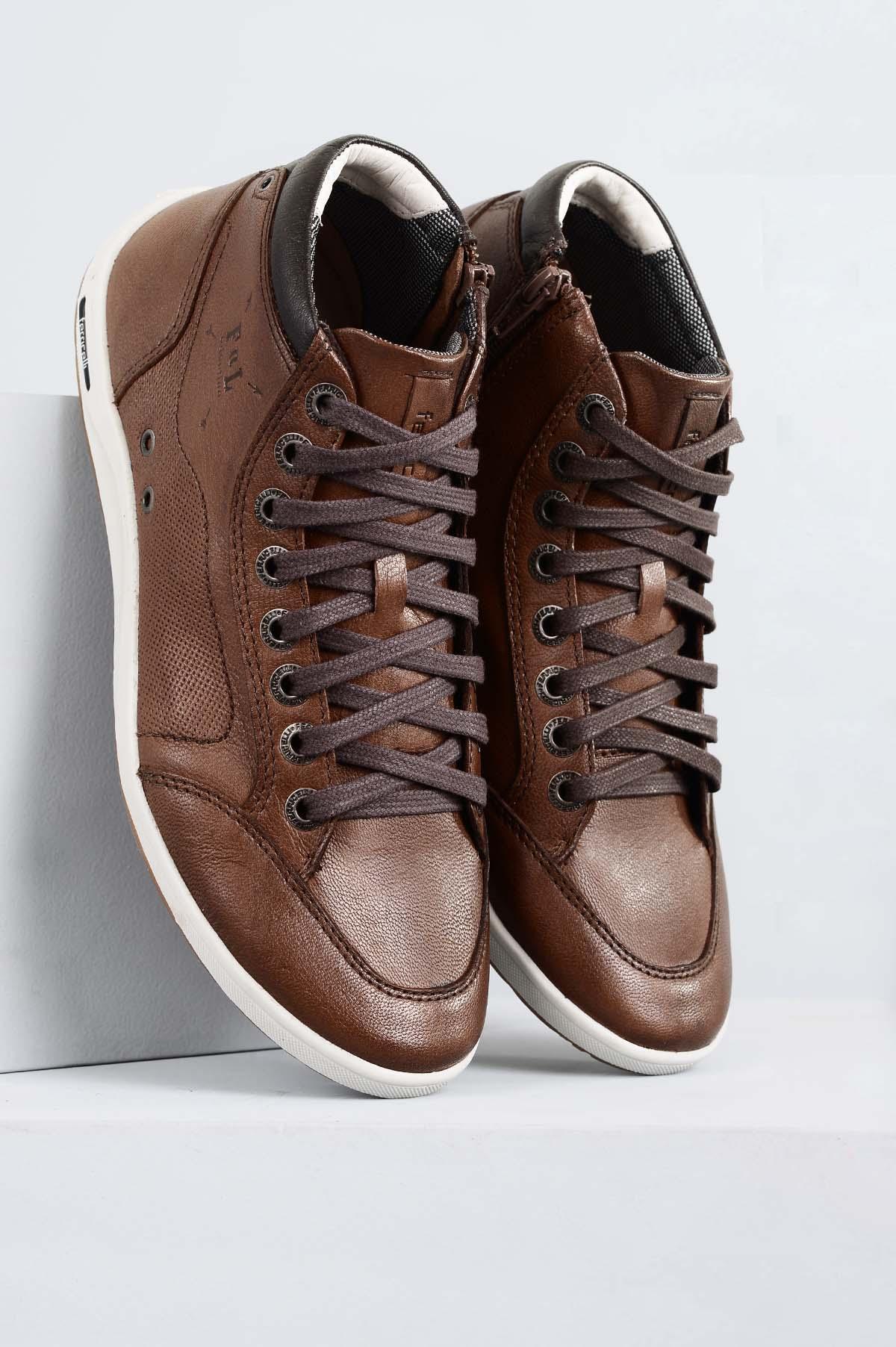 54549c0d6 Sapatênis Masculino Ferricelli Diogo CR-CAPPUCCINO - Mundial Calçados