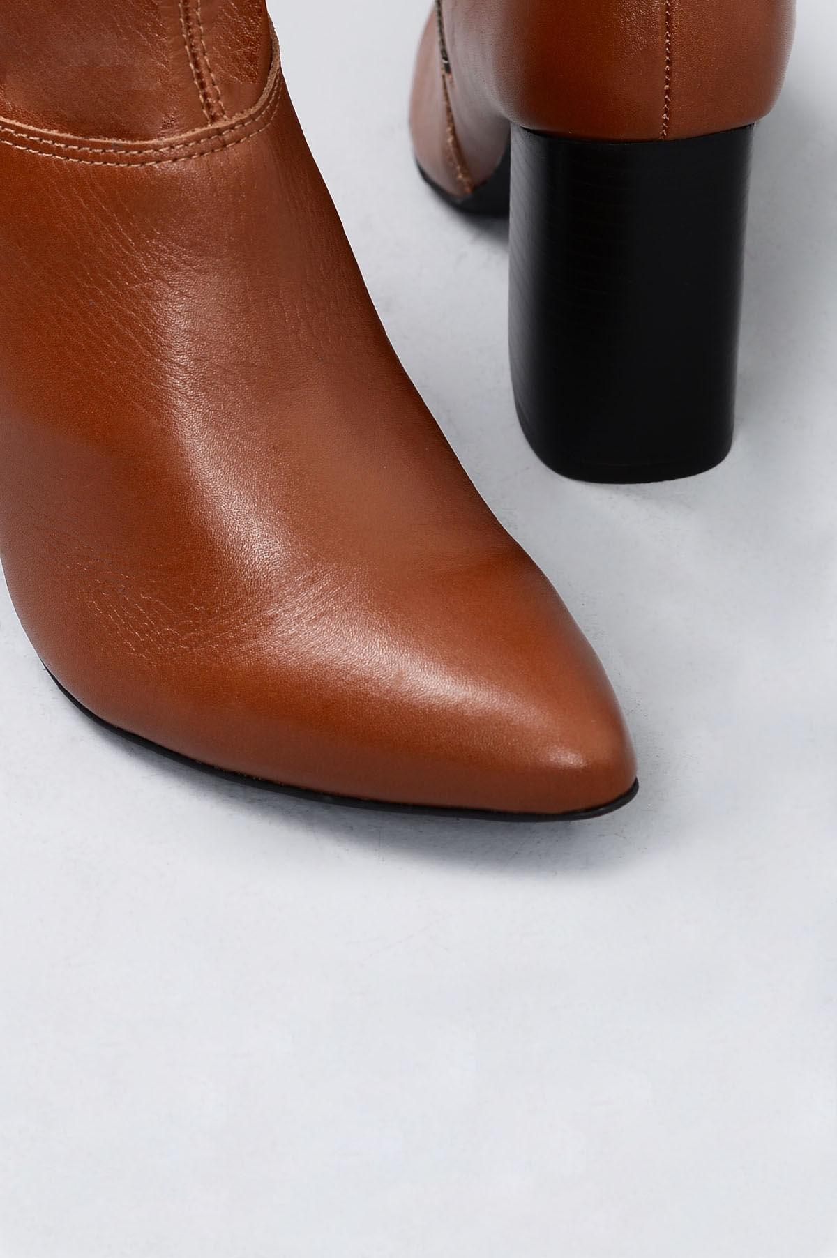 Bota Feminina Cano Longo Shazy Mundial CR-CARAMELO - Mundial Calçados e28d718a2c