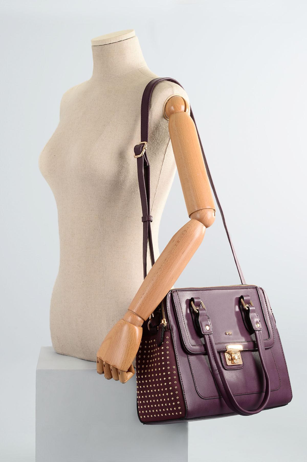 972f09efd Bolsa Feminina Gash Sawier SINT - VINHO - Mundial Calçados
