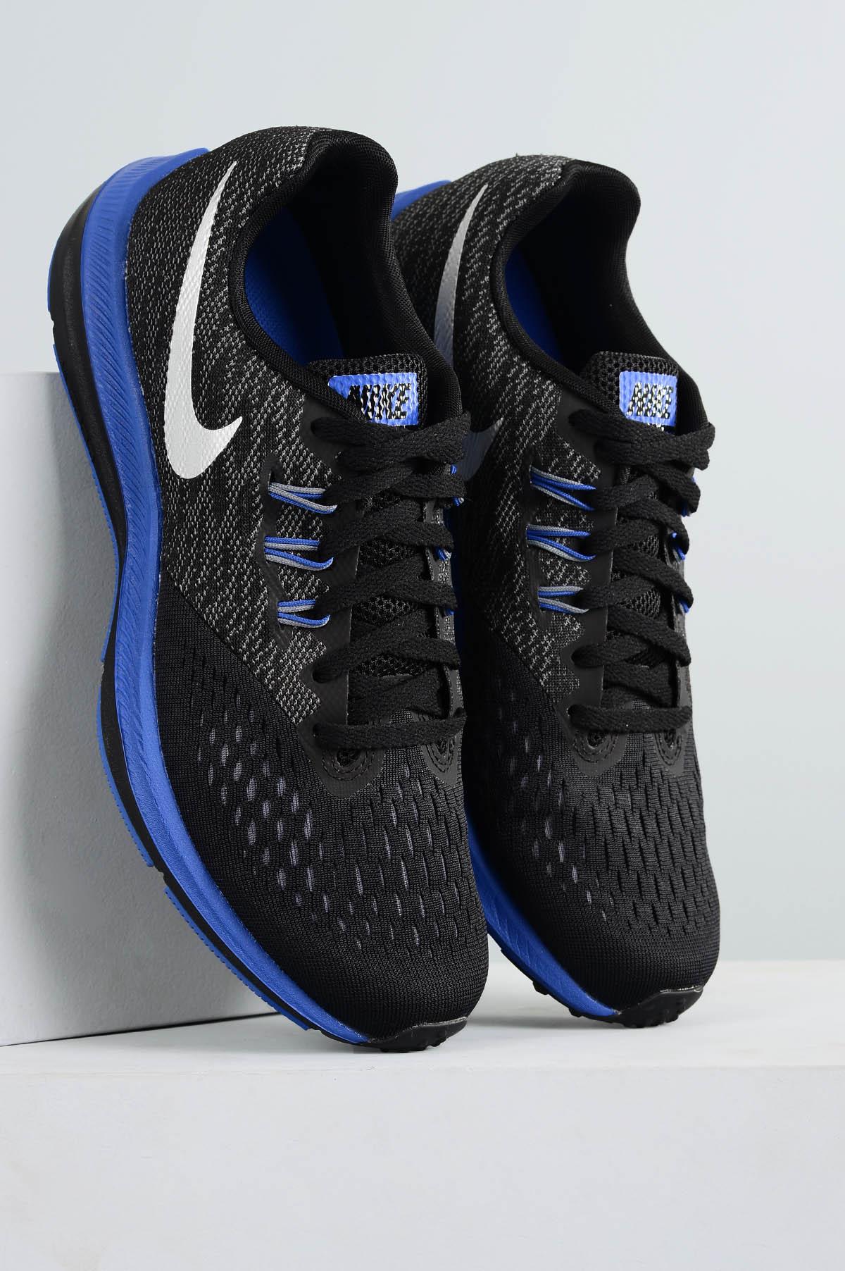 3d2a8fedb7e Tênis Masculino Nike Zoom Winflo 4 DIVERSOS AZUL - Mundial Calçados