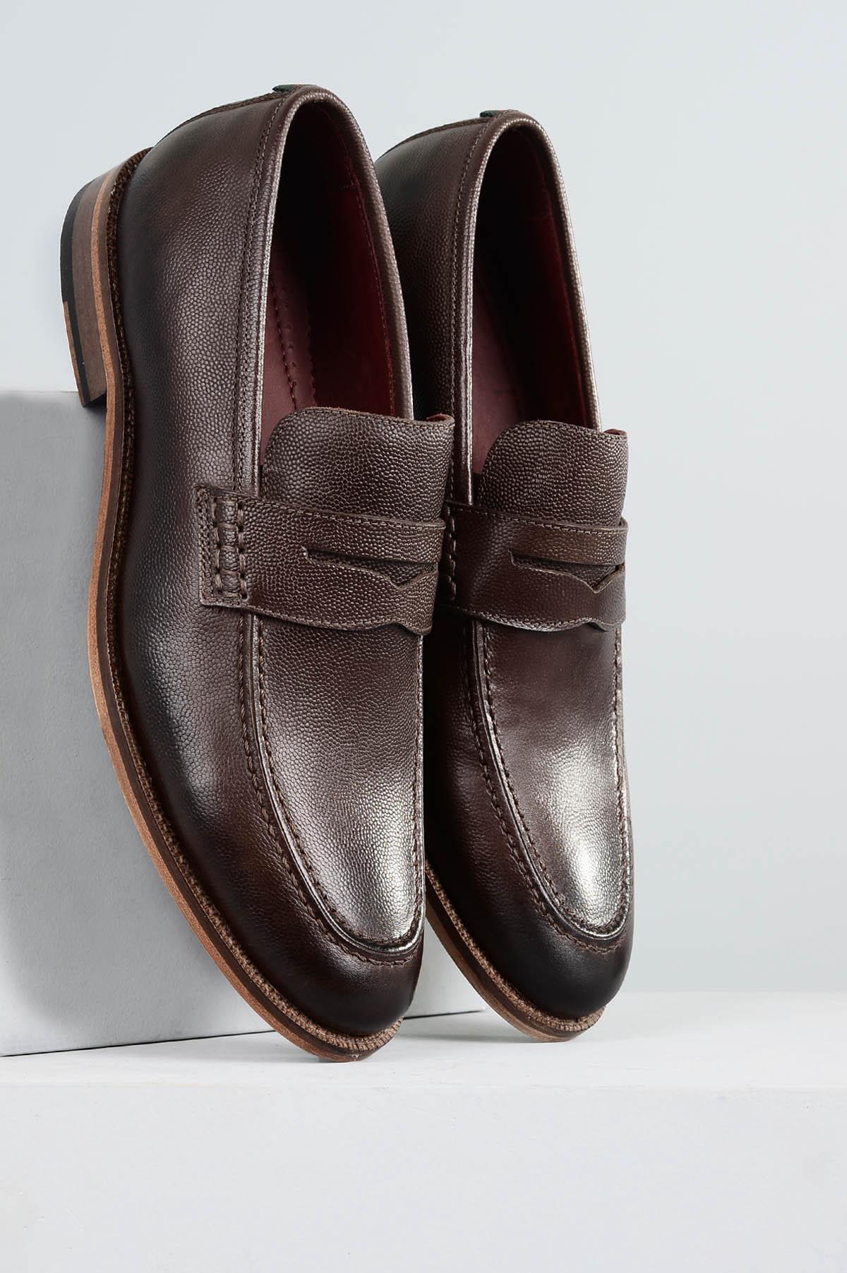 d53f0f6a6f Sapato Masculino Rodrigo Mundial CR - CAFE - Mundial Calçados