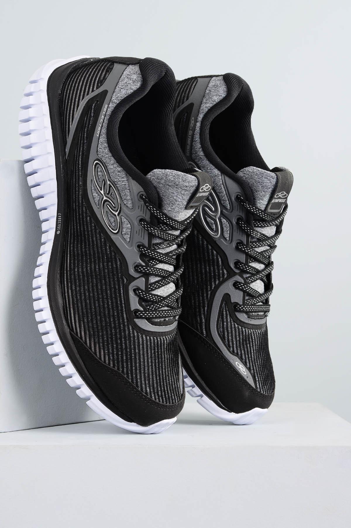 9a5d14b5fe5 Tênis Olympikus Selection TEC - PRETO - Mundial Calçados